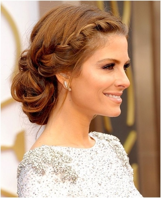 15 Braided Bun Updos Ideas – Popular Haircuts Regarding Most Recently Loose Bun Updo Hairstyles (View 6 of 15)