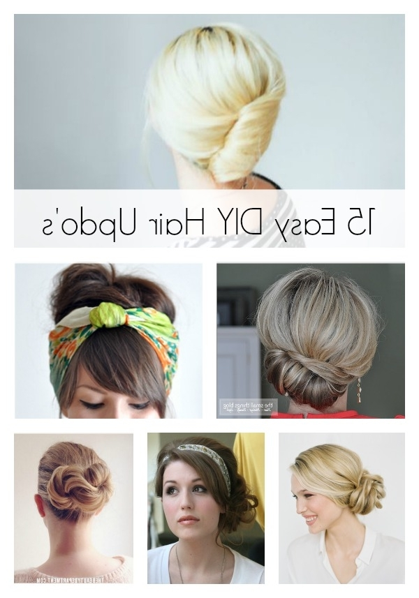 15 Easy Diy Hair Updo's – Artzycreations Throughout 2018 Easy Diy Updos For Long Hair (View 5 of 15)