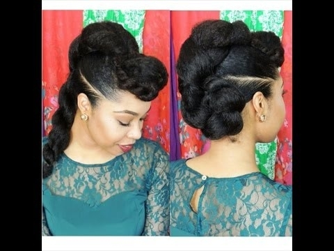 15 Easy Hairstyles For Long Hair For Best And Newest Updo Hairstyles With Braiding Hair (View 3 of 15)