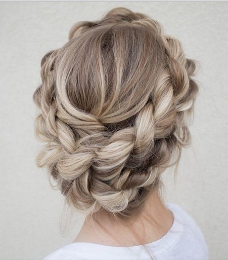 15 Fashionable Hairstyles For Ash Blonde Hair | Styles Weekly With Most Recent Blonde Updo Hairstyles (View 11 of 15)