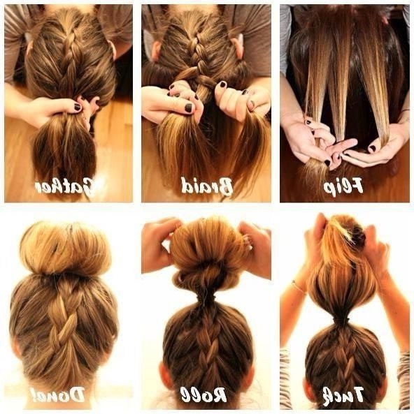 Showing Gallery Of Long Hair Updo Hairstyles For Work View 10 Of 15