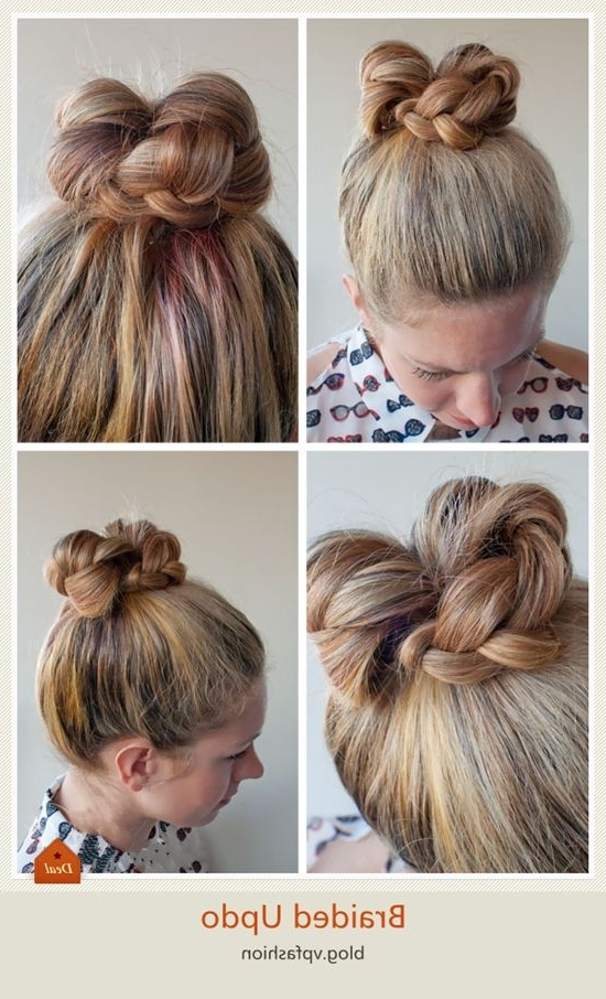 150 Best Winter Hairstyles Images On Pinterest | Winter Hairstyles Throughout Current Braided Updo Hairstyles With Extensions (View 5 of 15)
