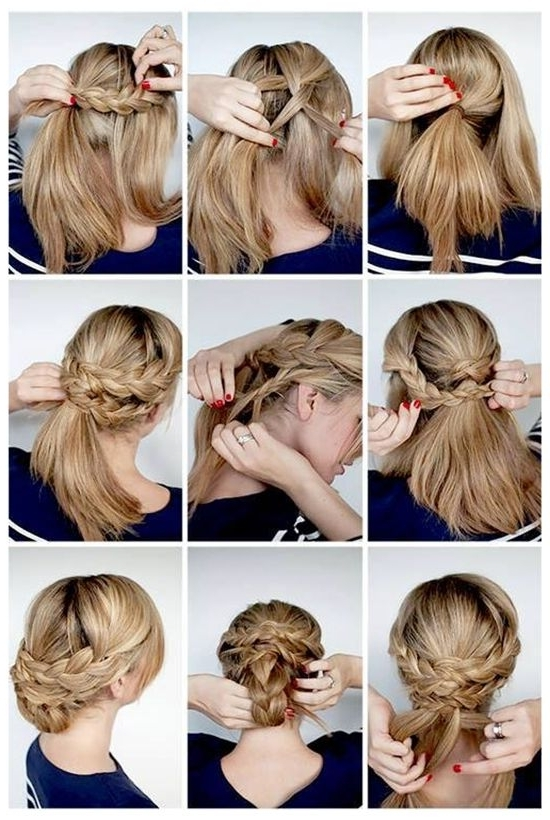 150 Best Winter Hairstyles Images On Pinterest | Winter Hairstyles With Regard To 2018 Hair Extensions Updo Hairstyles (View 15 of 15)