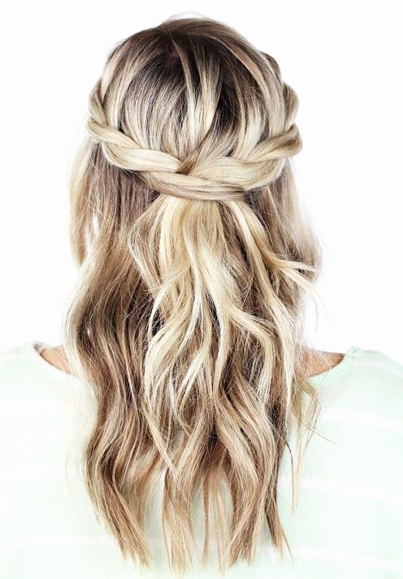 16 Best Of Half Up Hairstyles For Wedding | My Fashion View With Regard To Most Recent Wedding Half Updo Hairstyles (View 4 of 15)