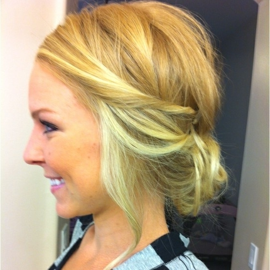 16 Boho Twisted Hairstyles And Tutorials – Pretty Designs Inside Recent Soft Updos For Short Hair (View 2 of 15)