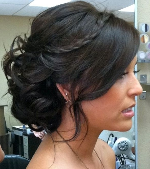 16 Cool Hairstyles For Medium Hair – Pretty Designs With Best And Newest Wedding Updo Hairstyles For Medium Hair (View 7 of 15)