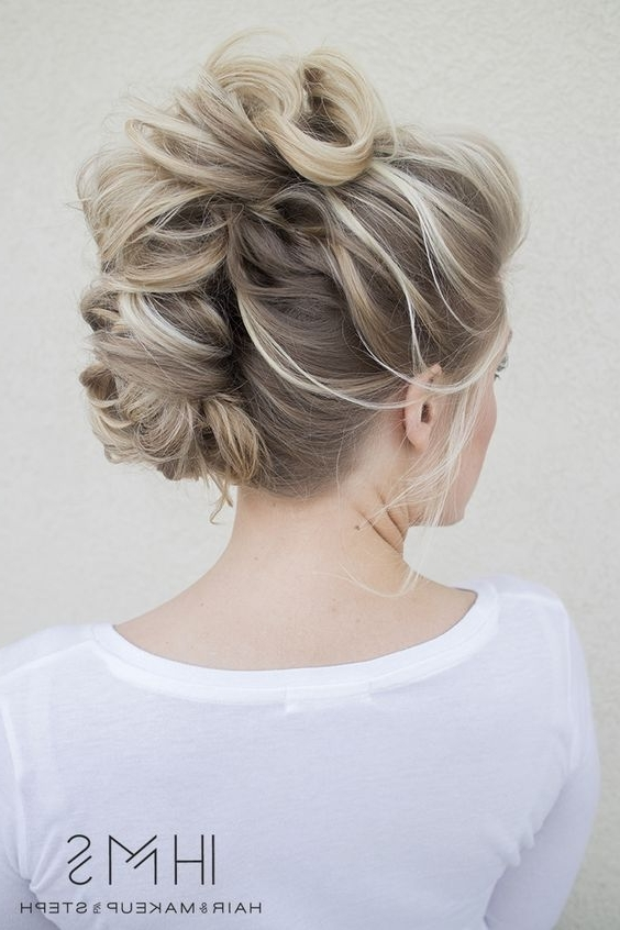 16 Fashionable French Twist Updo Hairstyles | Styles Weekly In Best And Newest French Twist Updo Hairstyles (View 3 of 15)