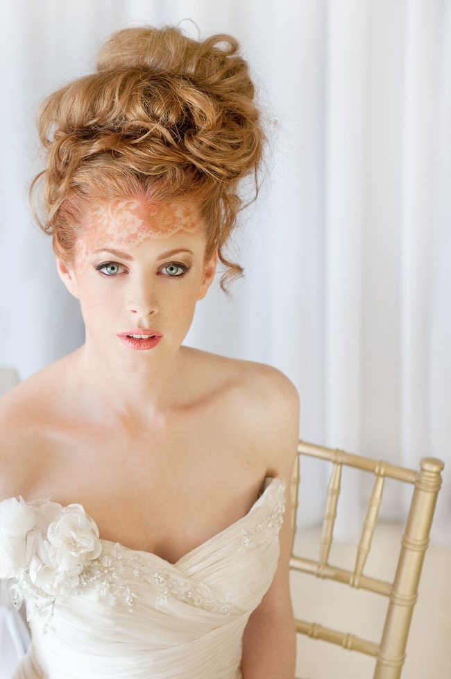 17 Jaw Dropping Wedding Updos & Bridal Hairstyles In Best And Newest Wedding Bun Updo Hairstyles (View 15 of 15)