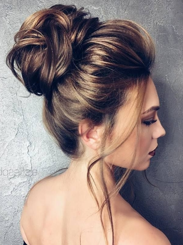 186 Best Hairstyles Images On Pinterest   Hair Ideas, Hairstyle For Recent Updo Bun Hairstyles (View 7 of 15)