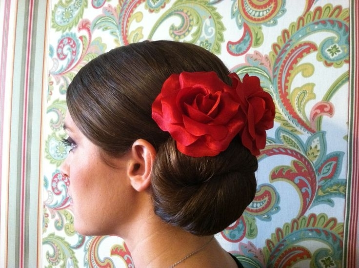 Photo Gallery Of Spanish Updo Hairstyles Showing 8 Of 15 Photos