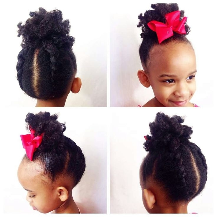 196 Best Allison Hairstyles Images On Pinterest | African Hairstyles Throughout Current Updo Hairstyles For Little Girl With Short Hair (View 15 of 15)
