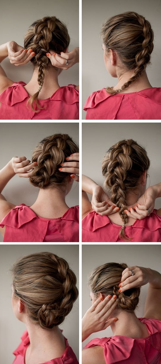 2 Ways To Braid Your Hair With Hair Extensions For Thin Hair Inside Most Recently Braided Updo Hairstyles With Extensions (View 8 of 15)