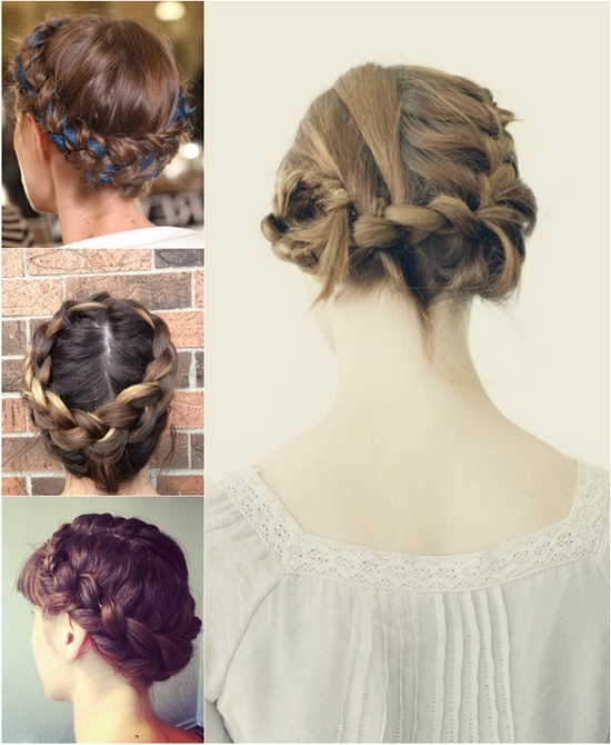 2 Ways To Braid Your Hair With Hair Extensions For Thin Hair – Vpfashion With Regard To Newest Braided Updo Hairstyles With Extensions (View 6 of 15)