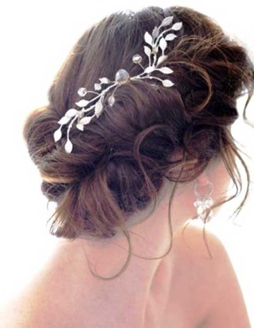 20 Accessories For Hair | Hairstyles & Haircuts 2016 – 2017 Throughout 2018 Long Hair Updo Accessories (View 4 of 15)