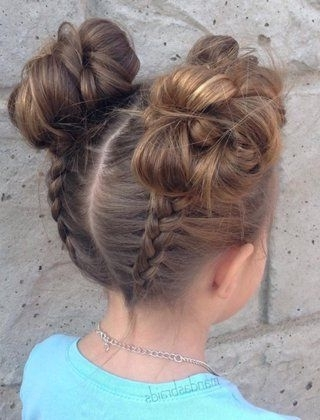 20 Adorable Toddler Girl Hairstyles | Kid Hairstyles, Girl For Most Current Easy Updo Hairstyles For Kids (View 2 of 15)
