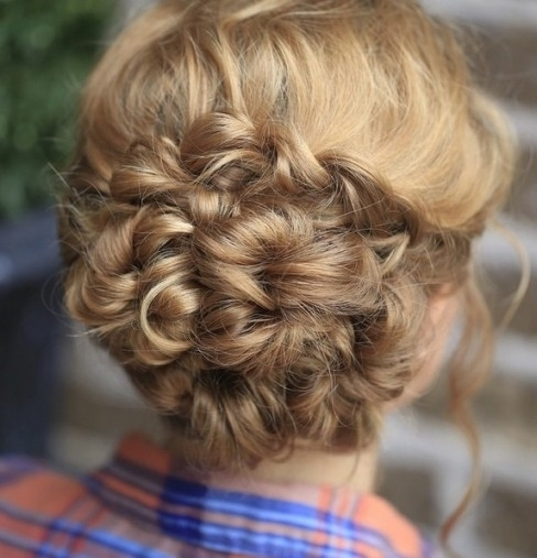 20 Amazing Braided Hairstyles For Homecoming, Wedding & Prom Inside Throughout Latest Homecoming Updo Hairstyles For Long Hair (View 5 of 15)