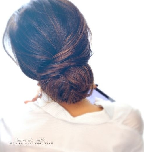 20 Formal Updos For The Most Exciting Days In Your Life | Formal Within Current Easy Elegant Updo Hairstyles For Thin Hair (View 4 of 15)