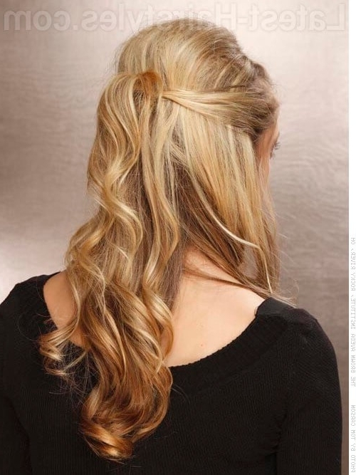 20 Gorgeous Formal Half Updos You'll Fall In Love With With Regard To Recent Half Updos For Long Hair (View 7 of 15)