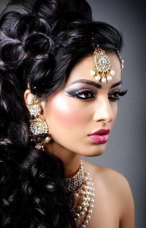 20 Gorgeous Indian Wedding Hairstyle Ideas Intended For Newest Indian Wedding Updo Hairstyles (View 4 of 15)
