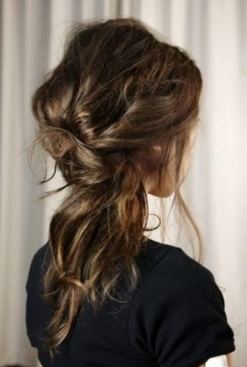 20 Gorgeous Messy Wedding Updos – Pretty Designs Intended For Most Current Messy Hair Updo Hairstyles For Long Hair (View 15 of 15)