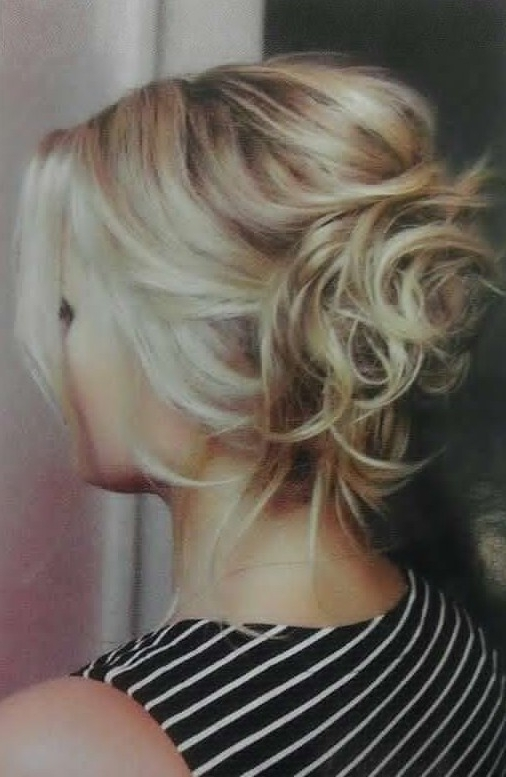 20 Gorgeous Messy Wedding Updos – Pretty Designs Within Newest Messy Hair Updo Hairstyles For Long Hair (View 11 of 15)