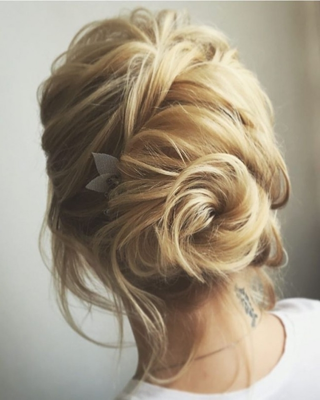 20 Gorgeous Prom Hairstyle Designs For Short Hair: Prom Hairstyles In Most Up To Date Short Hair Updo Hairstyles (View 3 of 15)