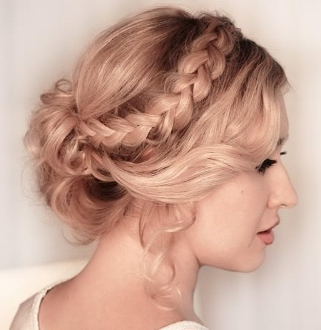 20 Gorgeous Prom Hairstyles For Short Hair Inside Latest Short Hair Updo Hairstyles (View 5 of 15)