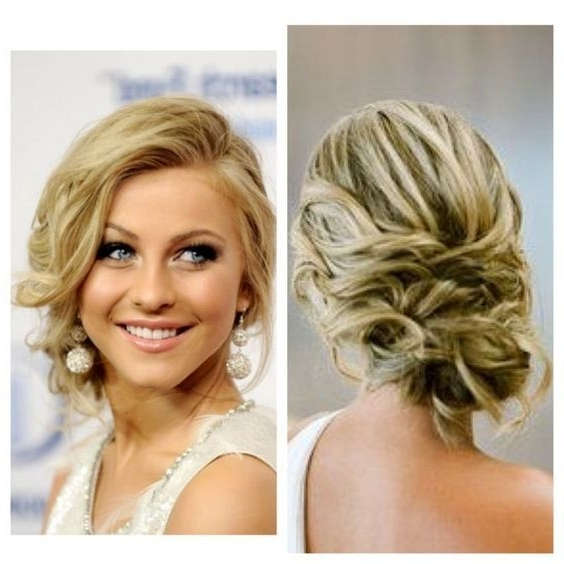 Top 20 Wedding Hairstyles For Medium Hair: Top 15 Of Wedding Updo Hairstyles For Shoulder Length Hair