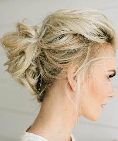 20 Medium Length Hairstyles For Thin Hair Intended For Newest Easy Updo Hairstyles For Fine Hair Medium (View 4 of 15)
