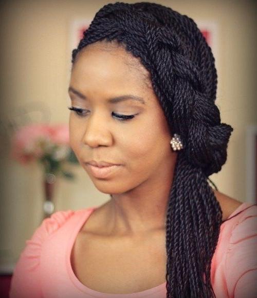 20 Mesmerising Box Braids Updo Hairstyles (View 7 of 15)