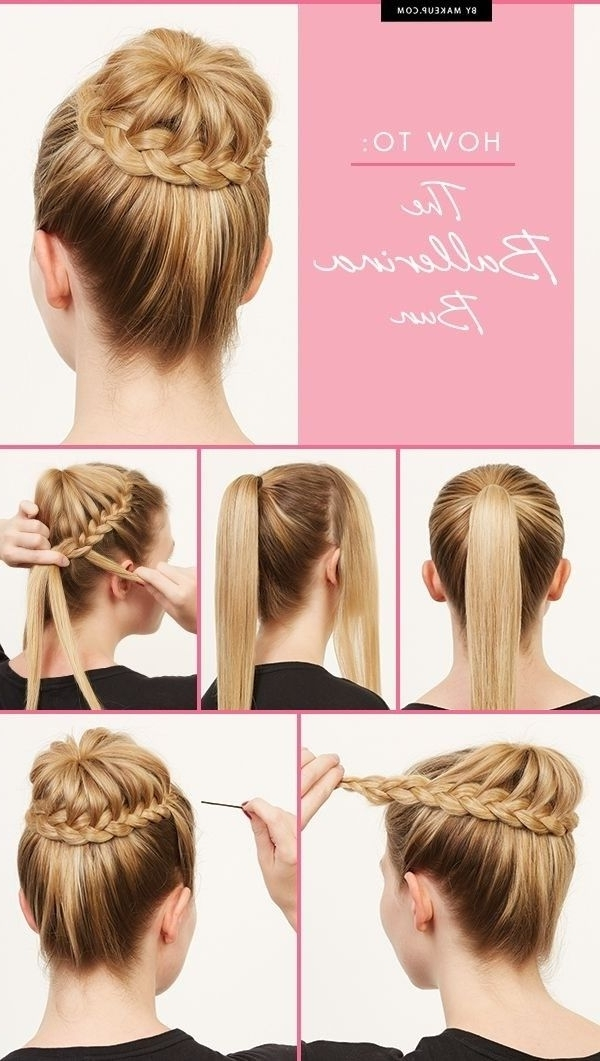 20 Pretty Braided Updo Hairstyles | Long Hair Hairstyles, Ballerina With Regard To Most Up To Date Braided Updo Hairstyles For Long Hair (View 13 of 15)
