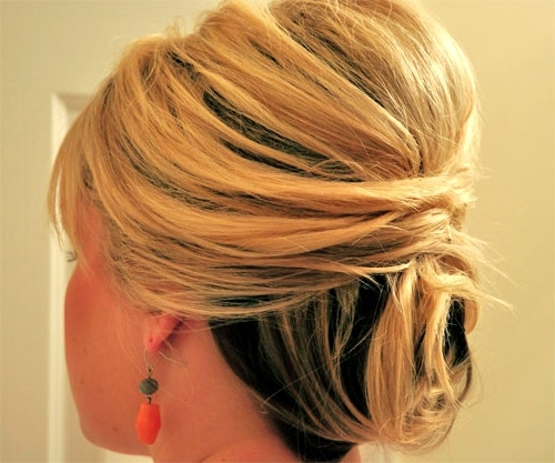 20 Short Wedding Hair Ideas | Short Hairstyles 2017 – 2018 | Most For Current Updo Hairstyles For Short Hair For Wedding (View 7 of 15)