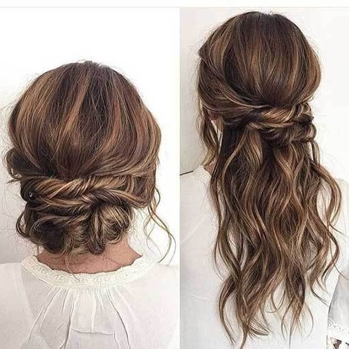 20 Stylish Easy Updos For Long Hair – Crazyforus Within Recent Easy Updos For Long Hair (View 3 of 15)