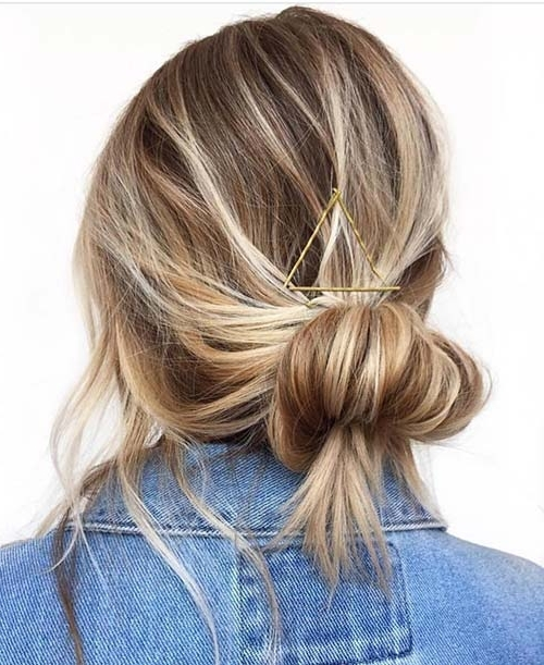20 Terrific Hairstyles For Long Thin Hair Intended For Best And Newest Updo Hairstyles For Long Fine Straight Hair (View 11 of 15)