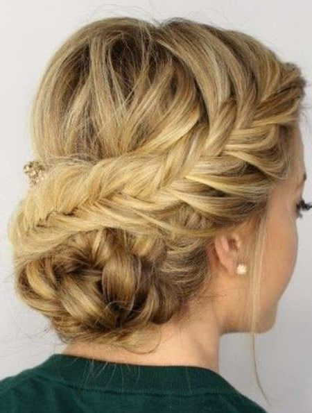 20 Unique Updos For Thin Hair Regarding Most Popular Updos For Thin Hair (View 4 of 15)