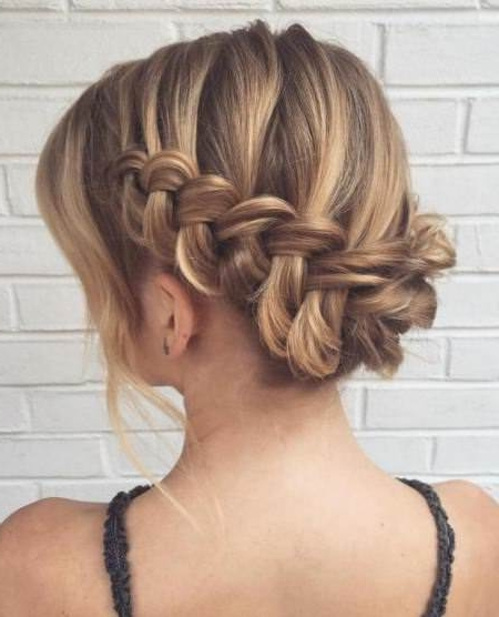 20 Unique Updos For Thin Hair Regarding Most Recent Updo Hairstyles For Thin Hair (View 6 of 15)