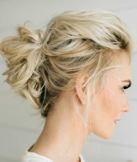 20 Unique Updos For Thin Hair | Thin Hair, Up Dos And Hair Style Within Most Recent Messy Updo Hairstyles For Thin Hair (View 13 of 15)