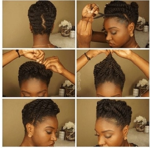 2017 Medium Length Hair Updos With Most Wanted Formal Hairstyles For Within 2018 Updo Hairstyles For Medium Length Natural Hair (View 1 of 15)
