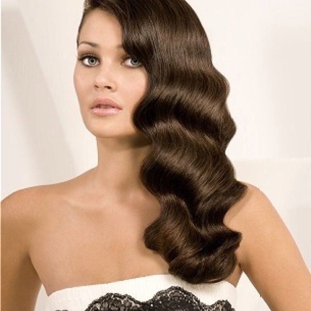 20's Hairstyles | 20's To Old Hollywood Glam Hairstyles | Hair For Inside Most Up To Date Finger Waves Long Hair Updo Hairstyles (View 3 of 15)