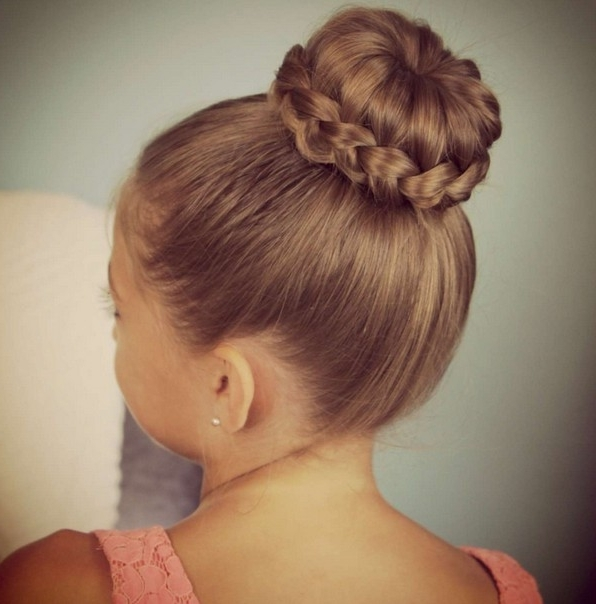 21 Cute Hairstyles For Girls – Hairstyles Weekly With Current Teenage Updo Hairstyles (View 7 of 15)