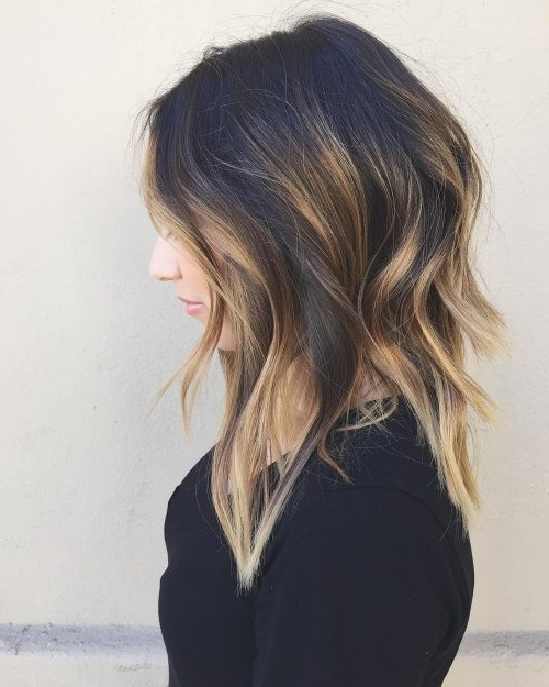 22 Best Medium Length Hairstyles For Thin & Fine Hair (2018 Ideas) Pertaining To Current Updos For Medium Length Thin Hair (View 8 of 15)