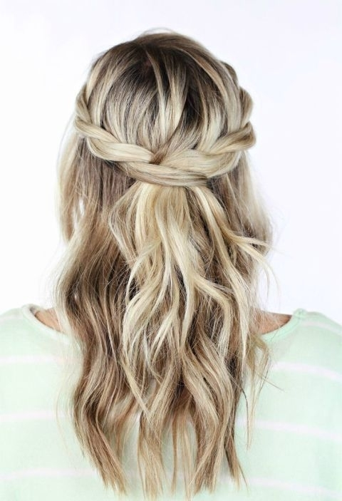 Showing Photos Of Mother Of The Bride Half Updo Hairstyles View 11