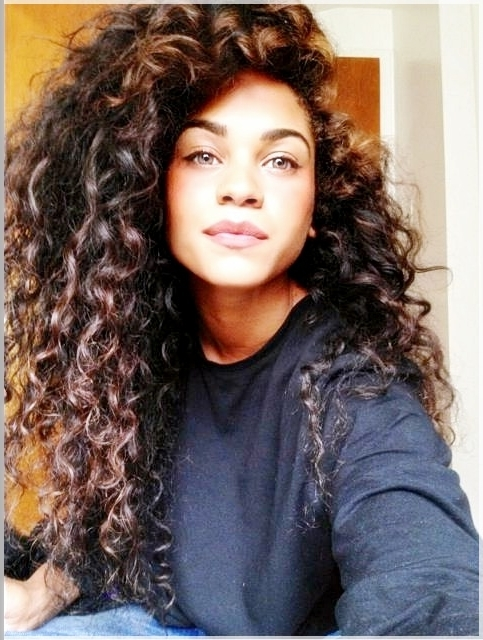 Gallery Of Natural Curly Hair Updo Hairstyles View 15 Of 15 Photos