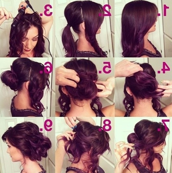 23 Prom Hairstyles Ideas For Long Hair – Popular Haircuts For Most Recent Messy Hair Updo Hairstyles For Long Hair (View 10 of 15)