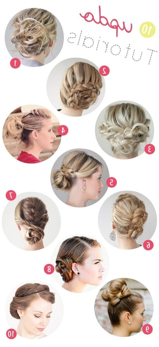 15 Best Collection Of Updo Hairstyles For Long Hair Tutorial