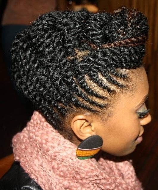 25 Beautiful Marley Twists Updo Ideas On Pinterest Havana Twist For Latest Marley Twist Updo Hairstyles (View 3 of 15)