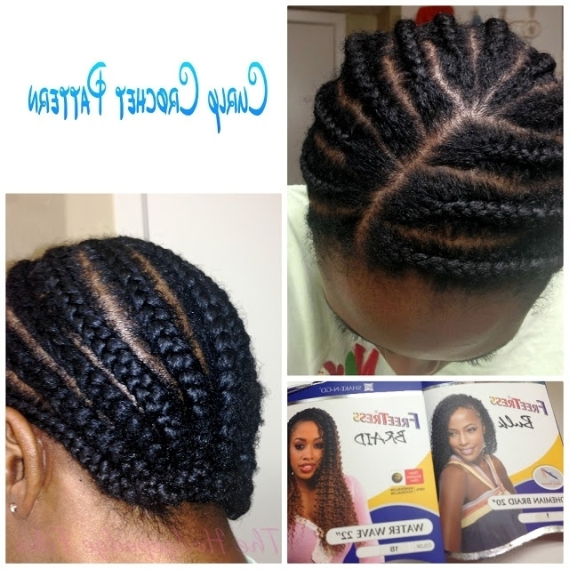 Explore Gallery Of Crochet Braid Pattern For Updo Hairstyles