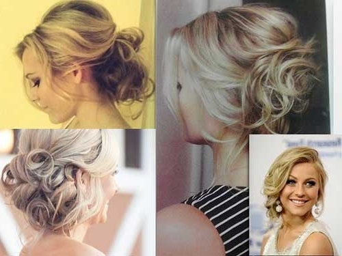 25 Good Bun Wedding Hairstyles | Hairstyles & Haircuts 2016 – 2017 Throughout Latest Low Messy Updo Hairstyles (View 9 of 15)