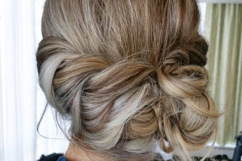 25 Most Beautiful Updos For Medium Length Hair (New For 2018) For Recent Loose Updo Hairstyles For Medium Length Hair (View 9 of 15)