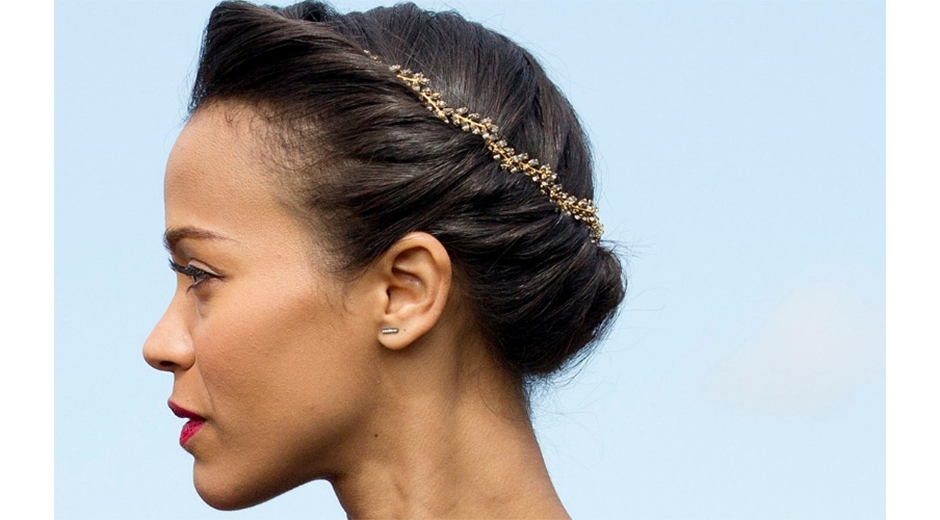 25 Stunning Natural Hair Updo Styles – The Co Reportthe Co Report Intended For Most Current Updo Hairstyles For Natural Black Hair (View 15 of 15)